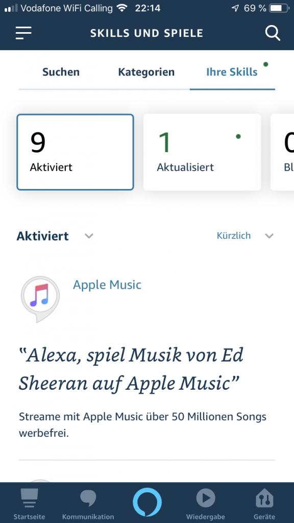 apple music alexa skill
