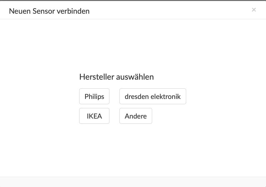 IKEA Bewegungsmelder über Phoscon in Conbee einbinden