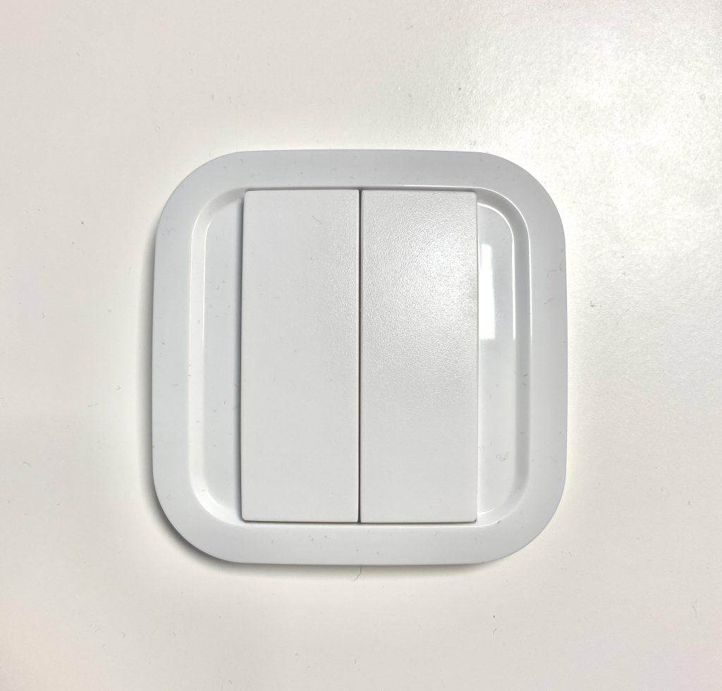 NodOn Friends Of Hue Schalter in weiß mit zwei Tasten.