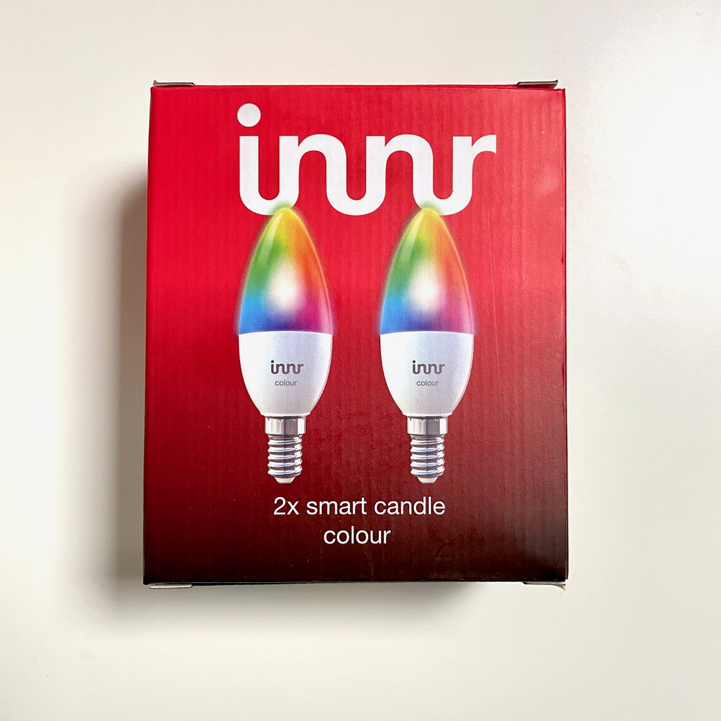 innr e14 Candle Farb LED Leuchtmittel Verpackung