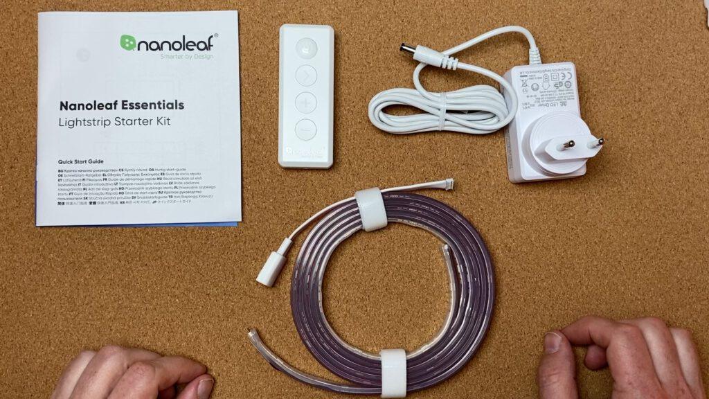 Lieferumfang Nanoleaf Essentials Lightstrip