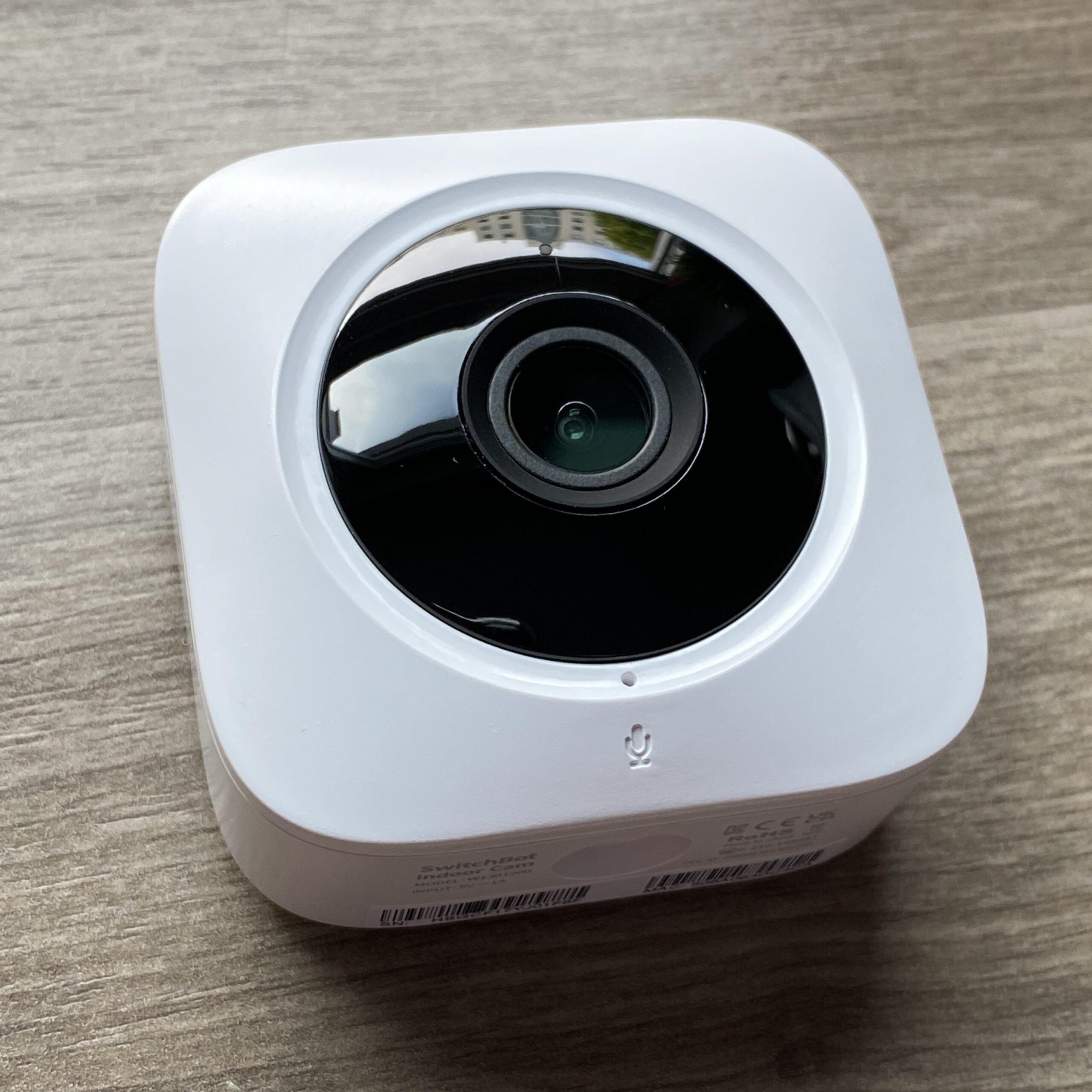 Abbildung der smarten Indoor Switchbot Überwachungskamera.