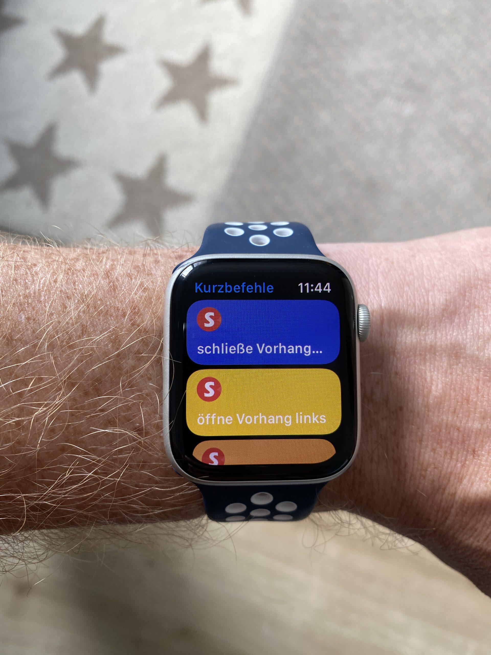 Siri Shortcut für SwitchBot Curtains