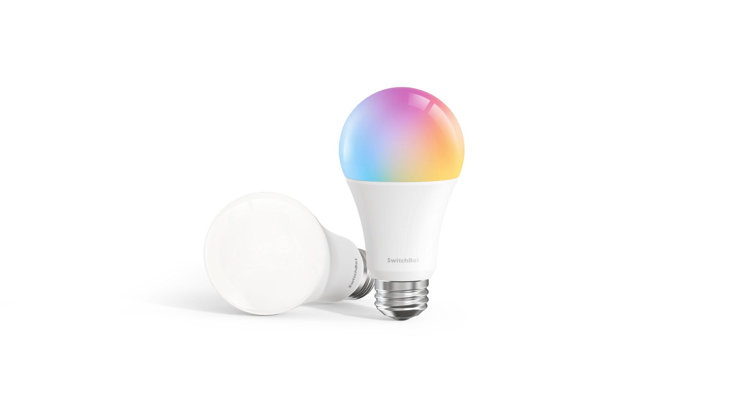 SwitchBot Color LED mit e27 Sockel dimmbar